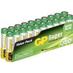 Batterier til lommelygter GP Batteries AAA Super Alkaline 20-pack