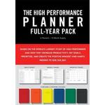 High Performance Planner Full-Year Pack: 6 Planners = 12-Month Supply (Hæfte, 2018)