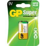 Batterier til lommelygter GP Batteries Super Alkaline 9V Compatible
