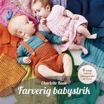 Farverig babystrik (Paperback, 2018)
