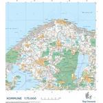 Andet format - Rejse & Ferie Bøger Trap Danmark: Falset kort over Gribskov Kommune: Topografisk kort 1:75.000 (Ukendt format, 2018)