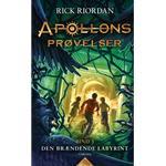 Apollons prøvelser 3: Den brændende labyrint (E-bog, 2018)