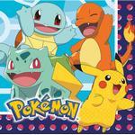 Serviet Amscan Napkins Pokemon 16-pack