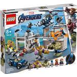 Superhelte Legetøj Lego Marvel Super Heroes Kampen Om Avengers-Basen 76131