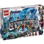 Lego Marvel Super Heroes Iron Mans Dragtgallerir 76125