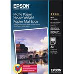 Epson Matte Paper Heavy Weight 167g A3 50