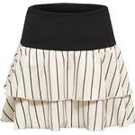 Flæsenederdel Børnetøj Hummel Tilda Skirt - Black/White (202716)
