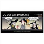 Ingemann kalender Bøger Og det var Danmark kalender 2020 (Indbundet, 2019)