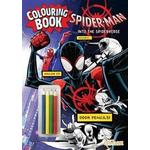 Spider-Man: Into the Spider-Verse Colouring Book with Pencils (Paperback, 2018)