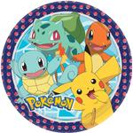 Amscan Plates Pokemon 8-pack