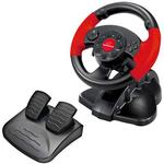 PS2 Spil Controllere Esperanza High Octane Steering Wheel (PC/PS2/PS3) - Black/Red