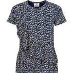 T-shirt Børnetøj The New Karla Tee - Black Iris (TN2288)