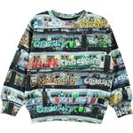 Sweatshirt Børnetøj Molo Mik - Subway (1W19J214 7038)