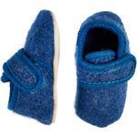 Indendørssko Børnesko CeLaVi Wool Shoes - Blue Melange