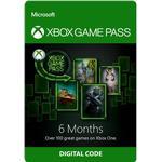 Gavekort Microsoft Xbox Game Pass - 6 Month