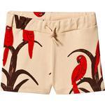 Shorts Børnetøj Mini Rodini Parrot Short - Red (1963013042)