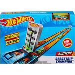 Bilbanesæt Mattel Hot Wheels Dragstrip Champion Playset