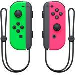 Spil Controllere på tilbud Nintendo Switch Joy-Con Pair - Green/Pink