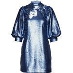 Dametøj Ganni Sequins Mini Dress - Forever Blue