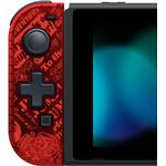 Spil Controllere Hori Mario Left Joy-Con D-Pad Controller (Nintendo Switch) - Red/Black