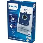 Støvsugertilbehør Philips S-bag FC8021/03 4-pack