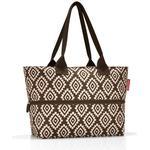 Håndtasker Reisenthel Shopper e1 - Ddiamonds Mocha