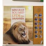 Min lille bog med lyde fra savannen: Bog med dyrelyde (2019)