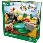 Togspor sæt Brio Safari Adventure Set 33960