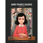 Anne Franks Dagbog graphic novel (Indbundet, 2019)