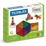 Legetøj Magformers Tileblox Rainbow 30pc Set