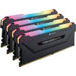Corsair Vengeance RGB LED Pro Black DDR4 3600MHz 4x8GB (CMW32GX4M4D3600C18)