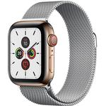 Apple Watch Series 5 Cellular 40mm Stainless Steel Case with Milanese Loop