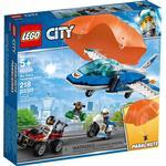 Lego city politi Legetøj Lego City Luftpolitiets faldskærmsanholdelse 60208