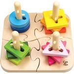Stablingslegetøj Hape Creative Peg Puzzle