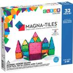 Byggesæt Magna-Tiles Clear Colors 3D Magnetic Building Tiles 32pcs