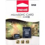 Micro sd kort 32 gb class 10 Hukommelseskort Maxell MicroSDHC Class 10 32GB