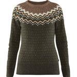 Fjällräven Övik Knit Sweater W - Deep Forest