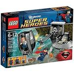 Supermand Legetøj Lego Super Heroes Superman Black Zero Escape 76009