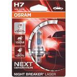 Osram H7 Night Breaker Laser Halogen Lamps 55W PX26d