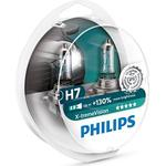 Philips H7 X-tremeVision Halogen Lamps 55W PX26d 2-pack