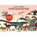 Alla tiders dinosaurier: aktivitetsbok, plansch och pussel 150 bitar (Ukendt format)