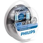 Philips H7 WhiteVision Ultra Halogen Lamps 55W PX26d 2-pack