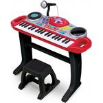 Musikinstrumenter Big Steps Rockstar Keyboard Toys with Microphone & Stool