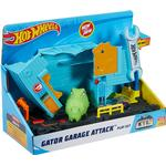 Legesæt Hot Wheels City Gator Garage Attack Playset