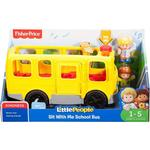 Bus Fisher Price Little People Sit with Me Skolebus