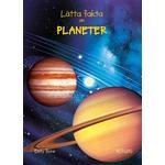 Planeter Bøger Lätta fakta om planeter (Hardback)