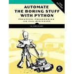 Automate the boring stuff with python Bøger Automate The Boring Stuff With Python, 2nd Edition (Hæfte, 2019)
