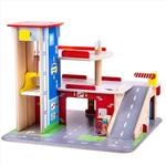 Bigjigs Park & Play Garage