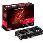Radeon RX 5700 Grafikkort Powercolor Radeon RX 5700 Red Dragon HDMI 3xDP 8GB