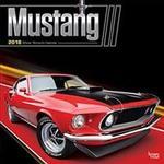 2018 Mustang Wall Calendar (Ukendt format, 2017)